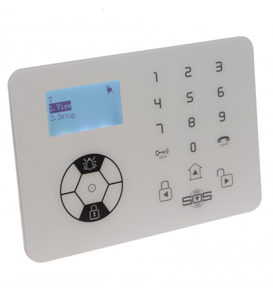 KP9 Bells Only 99 Zone Alarm Control Panel