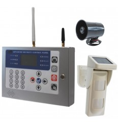 KP Heavy Duty GSM Alarm with External Pet Friendly PIR