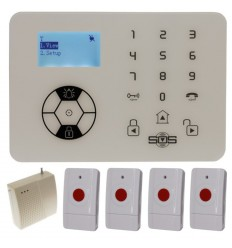 KP9 Siren Only Wireless Panic Alarm Kit C with Signal Booster