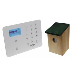 KP9 GSM Alarm with Pet Friendly Birdbox PIR