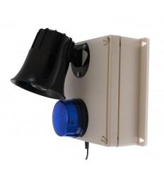 Wireless Latching Siren & Strobe Panic Alarm Control Panel