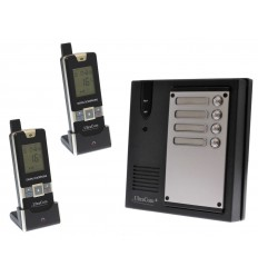 2 x Property 600 metre Wireless UltraCom Intercom System