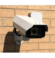 Large External Dummy CCTV Camera (DC10) with Cable Management Box