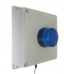 Flashing RED or Blue LED Mains Power Failure System