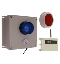 Long Range (1200 metre) Wireless SOS Panic Alarm Kit