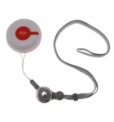 Wireless SOS Desk or Lanyard Push Button