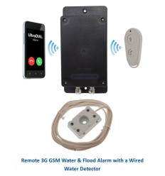 Remote Location UltraDIAL Battery 3G GSM Water & Flood Alarm