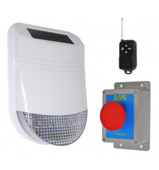 HY Wireless Yard Panic Alarm