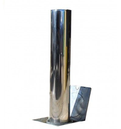 Stainless Steel TP-200 Telescopic Security & Parking Post.