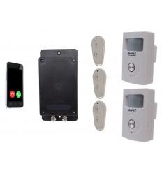UltraDIAL Battery Covert 3G GSM Silent PIR Alarm with 2 x PIR's