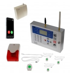 KP 400 metre GSM Staff Safety & Panic Alarm