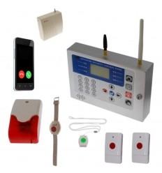 KP 400 metre GSM Staff Safety & 4 x Various Panic Buttons