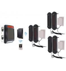 Stand-alone 3G GSM UltraDIAL Perimeter Alarm with Siren Kit 3