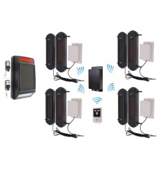 Stand-alone 3G GSM UltraDIAL Perimeter Alarm with Siren Kit 4
