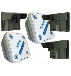 Protect-800 Long Range Wireless Driveway Alert including 3 x PIR's with unique Pencil Beam Lens