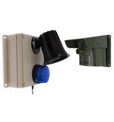 Protect-800 Driveway Alert with Loud Outdoor Siren Receiver.