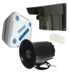 Protect-800 Long Range Wireless Driveway Alert with Outdoor Wired Siren