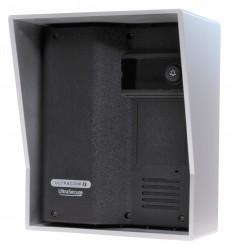 Black UltraCOM2 Wireless Intercom Black Caller Stn with Silver Hood