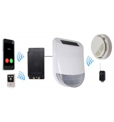 Wireless HY Smoke Alarm with Battery GSM Dialler
