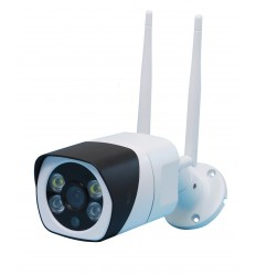 EW12 External Wi-Fi (IP) CCTV Camera with 2-way Audio, 1080P, Recording, 20 metre Night Vision, Light & Siren