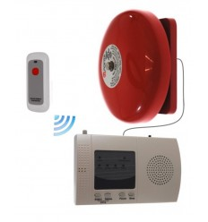 Long Range (900 metre) Wireless Warehouse 'S' Bell with Internal Push Button