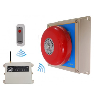 Extra Long Range (1800 metre) Wireless Bell from Ultra Secure Direct