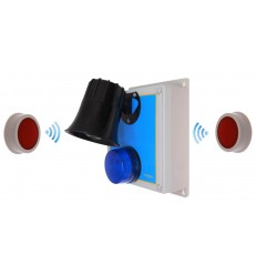 118 Decibel Loud Wireless Panic Alarm System