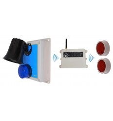 1200 metre Wireless 118 Decibel Loud Panic Alarm System