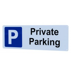 External Private Parking Wall Sign