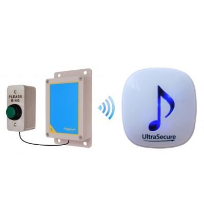 Medium range 600 metre Wireless DA600 Doorbell