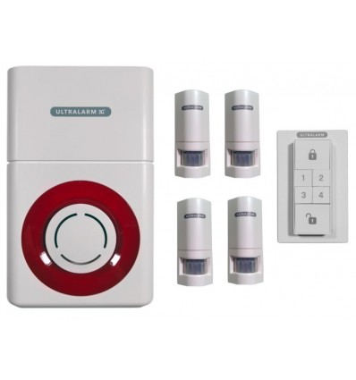 3G GSM Battery Ultralarm PIR Alarm Kit
