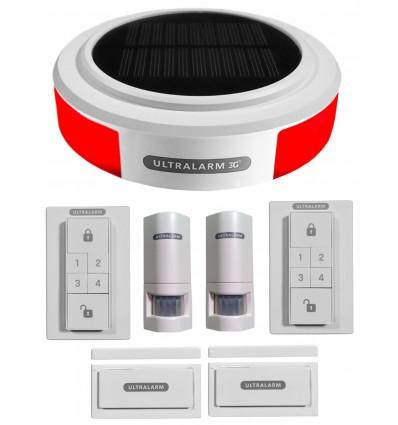 3G GSM Wireless Ultralarm Burglar Alarm Double Kit