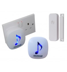 DA-600 300 metre Wireless Door Alert with 2 x Receivers