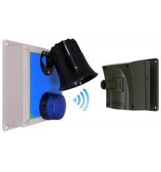 Protect-800 Driveway Alarm with Loud Outdoor Siren Receiver.