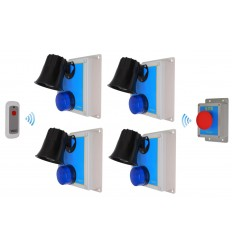 Long Range Loud Wireless SOS & Lockdown Alarm Kits