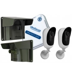 2 x PIR Protect-800 Driveway Alert with 2 x Wifi Cameras
