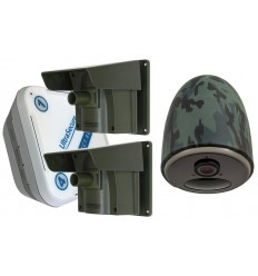 Protect-800 Long Range Wireless Driveway Alarm with 4G Battery Outdoor Camera