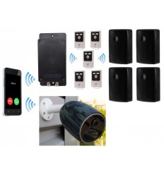 UltraDIAL Battery Covert GSM Alarm & Battery 4G Camera