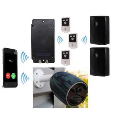 UltraDIAL Battery Covert GSM Alarm & Battery 4G Camera