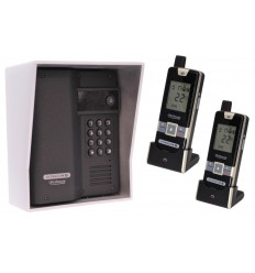 Wireless UltraCOM2 Gate Intercom with Keypad & 2 x Portable Handsets