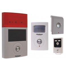 BT Wireless PIR, Internal & External Sirens Shed & Garage Alarm System