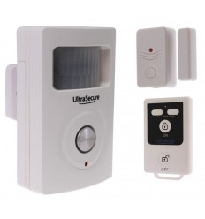 BT PIR & Magnetic Door/Window Contact Alarm with Remote Control