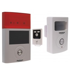 BT Wireless PIR & External Solar Siren Shed & Garage Alarm System