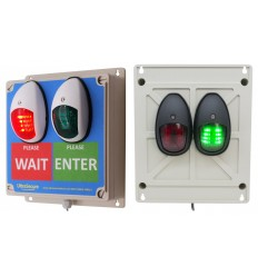 Green & Red Wireless Door Entry Lighting Control System