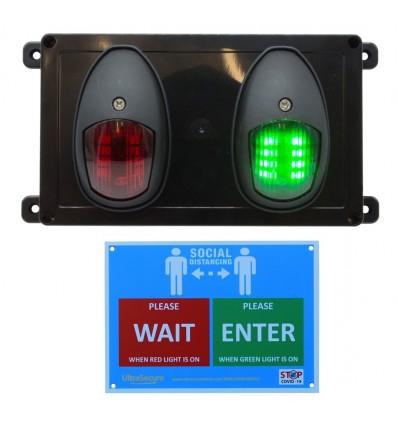 Wireless Door Entry Control Lighting System