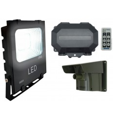 Floodlight Long Range Wireless Driveway PIR Alarm with Outdoor Receiver