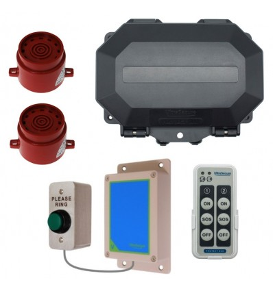 Warehouse Commercial Doorbell with 2 Sirens