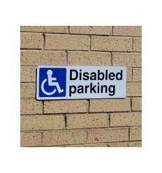 External Disabled Parking Sign