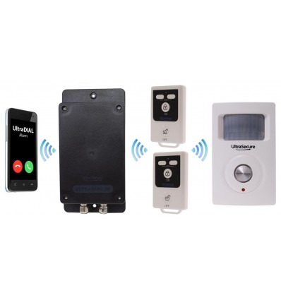 UltraDIAL Battery Covert GSM Alarm