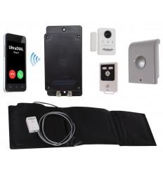 3G GSM Battery Boat Alarm with Door Contact, Siren & Pressure Mat (UltraDIAL).